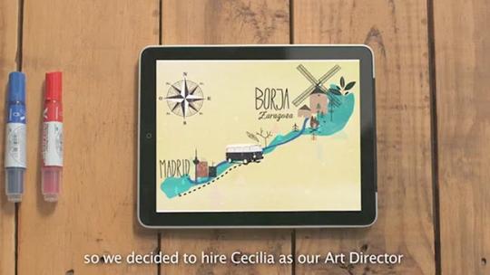 Cecilia, nueva directora de arte de Mil Vueltas